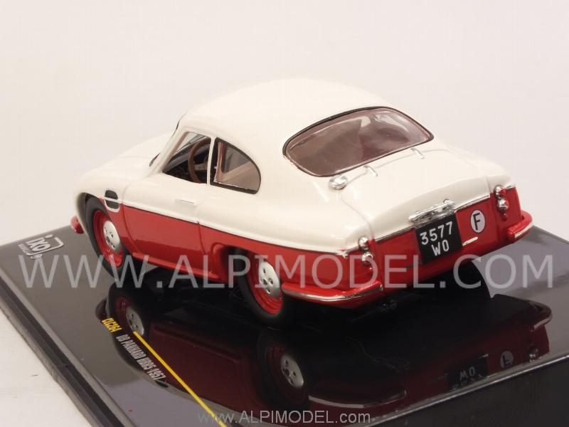 DB Panhard HBR5 1957 (White/Red) - ixo-models
