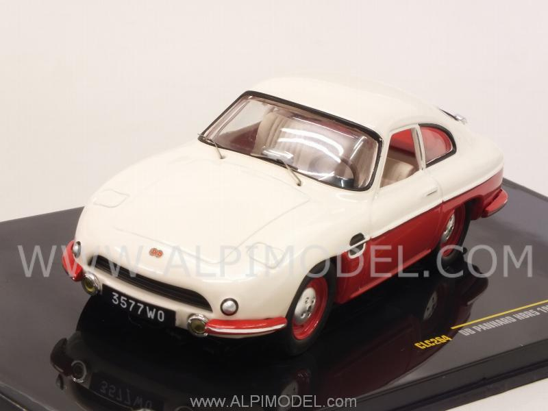 DB Panhard HBR5 1957 (White/Red) by ixo-models
