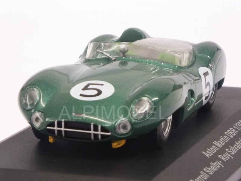 Aston Martin DBR1 #5 Winner Le Mans 1959 Shelby - Salvadori by ixo-models