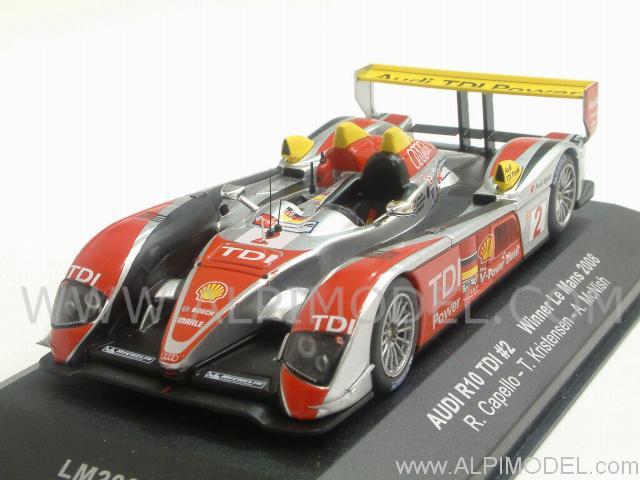 Ixo Models Audi R10 Tdi 2 Winner Le Mans 2008 Mcnish