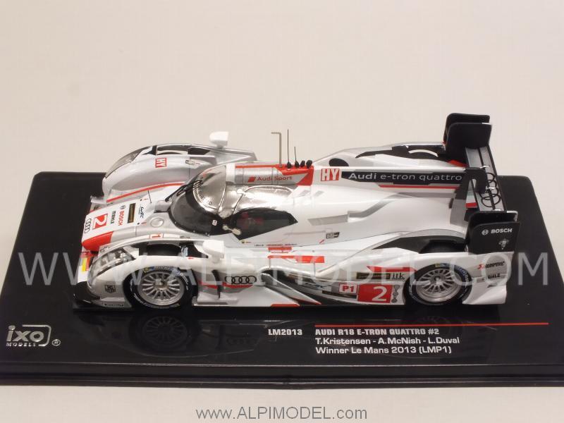 Ixo Models Audi R18 E Tron Quattro 2 Winner Le Mans 2013