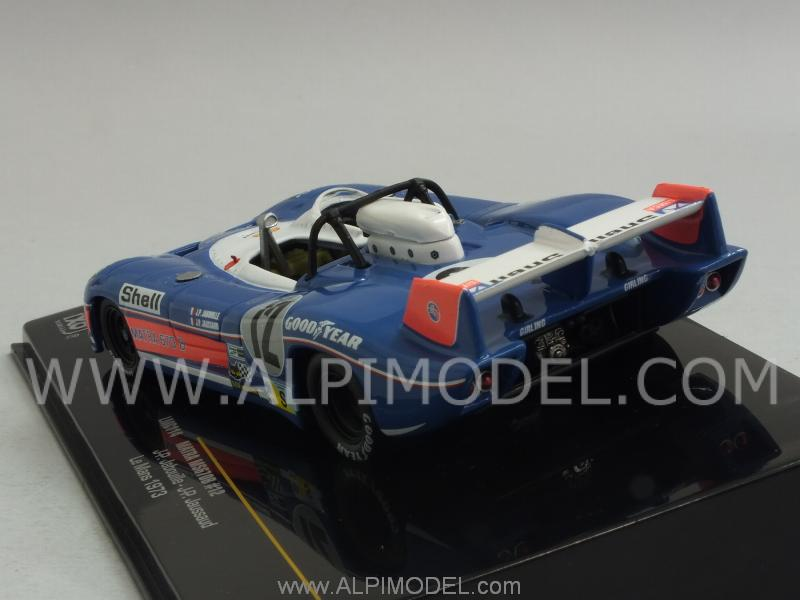 Matra MS 670B #12 Le Mans 973 Jabouille - Jaussaud - ixo-models