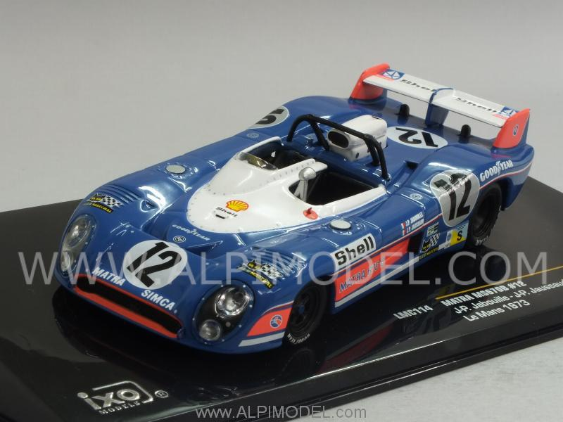 Matra MS 670B #12 Le Mans 973 Jabouille - Jaussaud by ixo-models