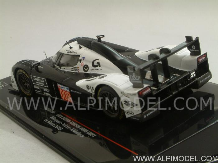 Lola Aston Martin #008 Le Mans 2010 Ragues - Vanina Ickx - Mailleux - ixo-models