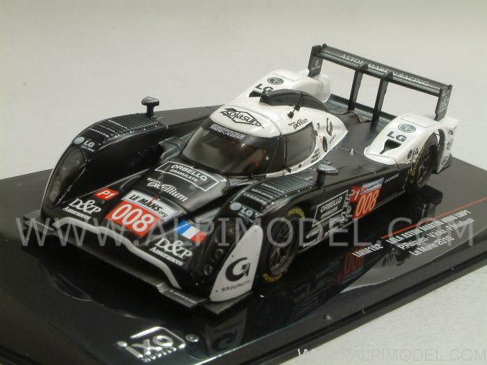 Lola Aston Martin #008 Le Mans 2010 Ragues - Vanina Ickx - Mailleux by ixo-models