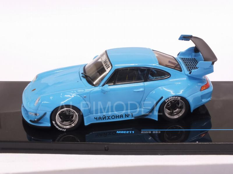 Porsche RWB 993 (Light Blue) - ixo-models