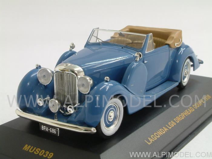 Lagonda LG6 Drophead Coupe 1938 by ixo-models