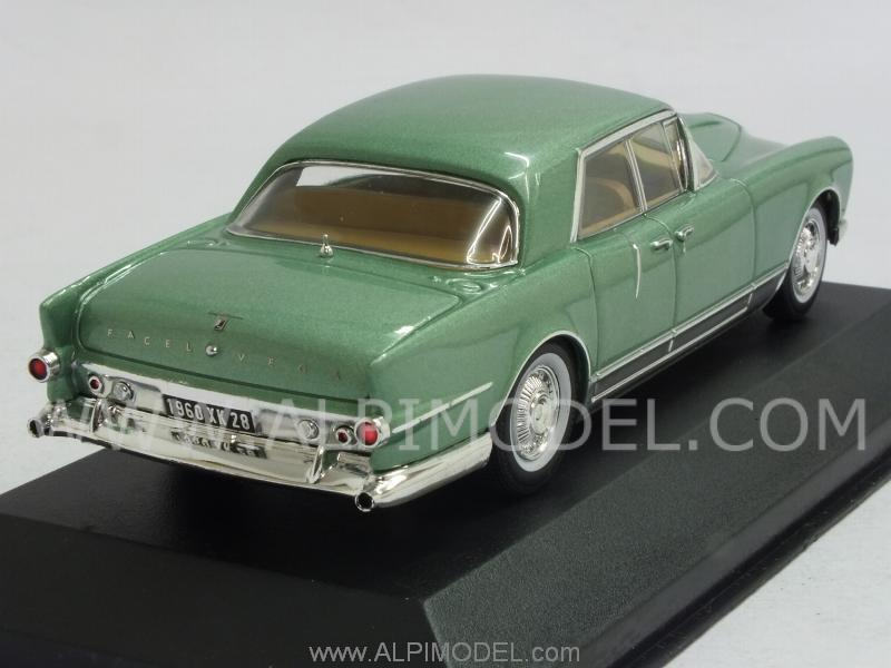 Facel Vega Excellence 1960 (Metallic Green) - ixo-models