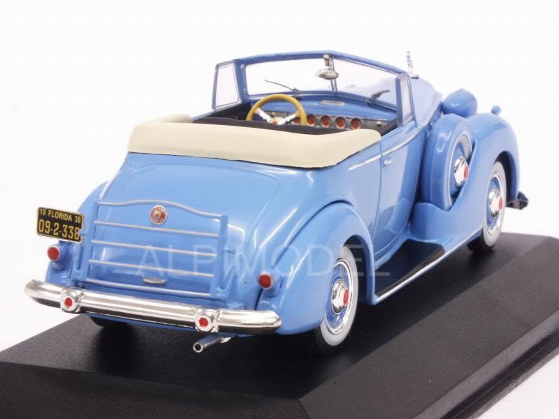 Packard Victoria Convertible 1938 (Blue) - ixo-models