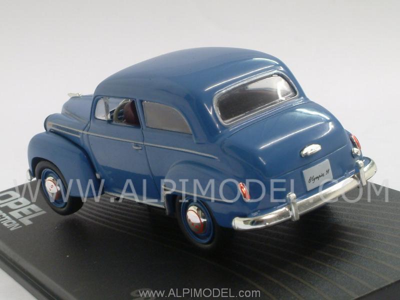 ixo models opel06 opel olympia 1951 53 blue edicola 1 43. Black Bedroom Furniture Sets. Home Design Ideas