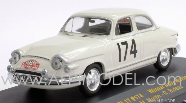 Panhard PL17 Winner Rally Monte Carlo 1961 Martin - Bateau by ixo-models