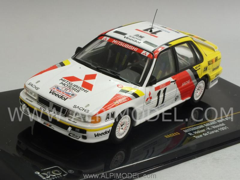 Mitsubishi Galant VR-4 #11 Tour De Corse 1991 Holzer - Wendel by ixo-models