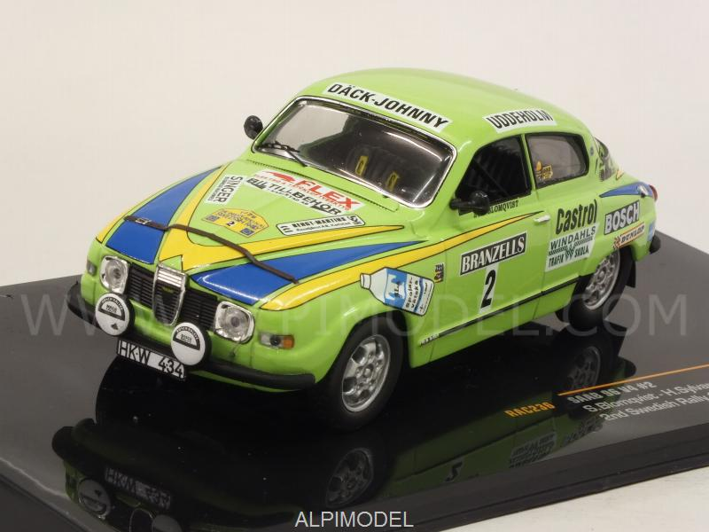 Saab 96 V4 #2 Rally Sweden 1976 Blomqvist - Sylvan by ixo-models