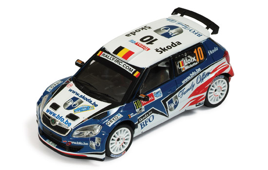 Skoda Fabia S2000 #10 Rally Ypres 2010 Loix - Miclotte by ixo-models