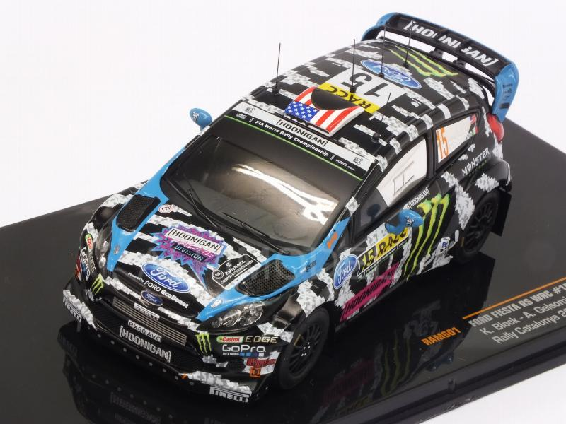 Ford Fiesta RS WRC #15 Rally Catalunya 2014 Block-  Gelsomino - ixo-models