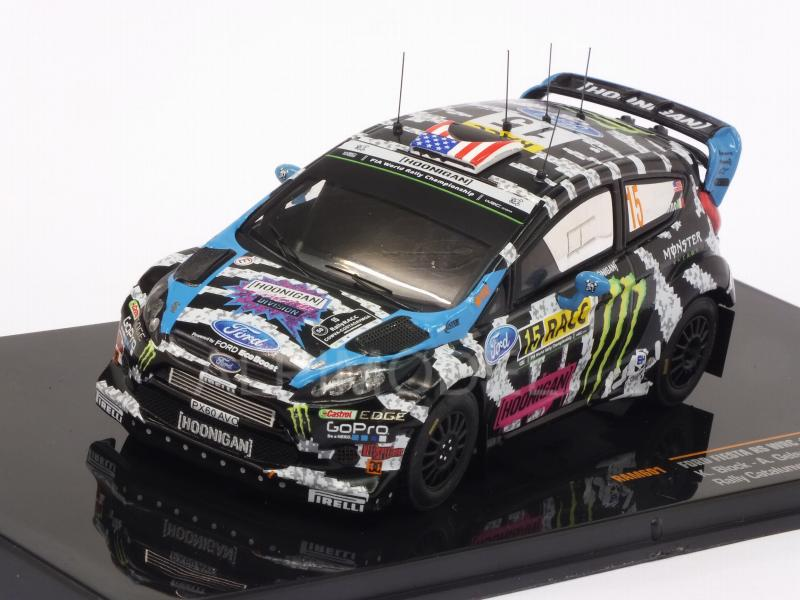Ford Fiesta RS WRC #15 Rally Catalunya 2014 Block-  Gelsomino by ixo-models