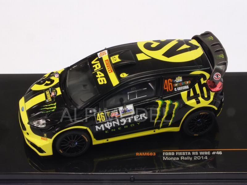 FORD FIESTA RS WRC 2° MONZA RALLYE 2014 VALENTINO ROSSI IXO RAM603 1//43