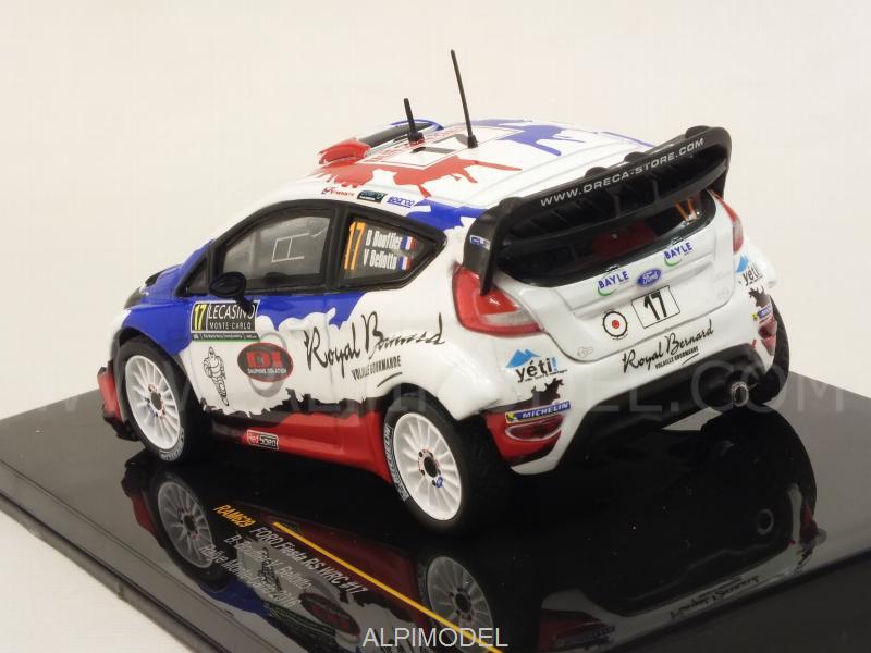 1:43 Bellotto #17 Ixo Ford Fiesta RS WRC Rallye Monte Carlo 2016 Bouffier