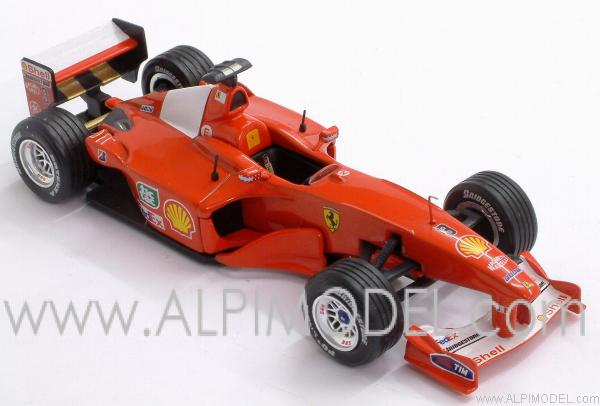 Ferrari F1-2000 Formula 1 World Champion 2000 Michael Schumacher - LA STORIA FERRARI COLLECTION #2 - ixo-models