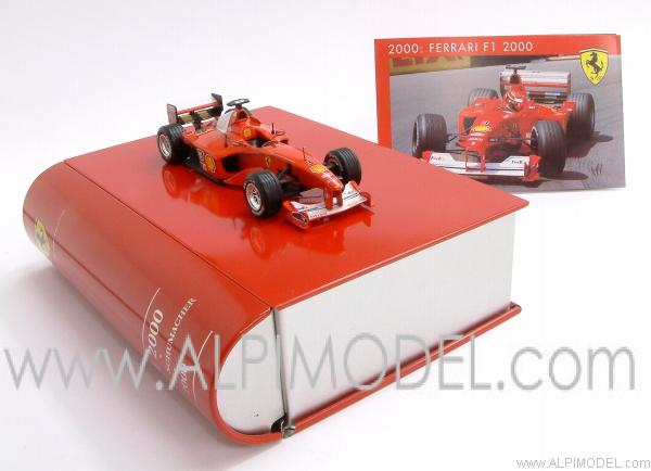 Ferrari F1-2000 Formula 1 World Champion 2000 Michael Schumacher - LA STORIA FERRARI COLLECTION #2 by ixo-models