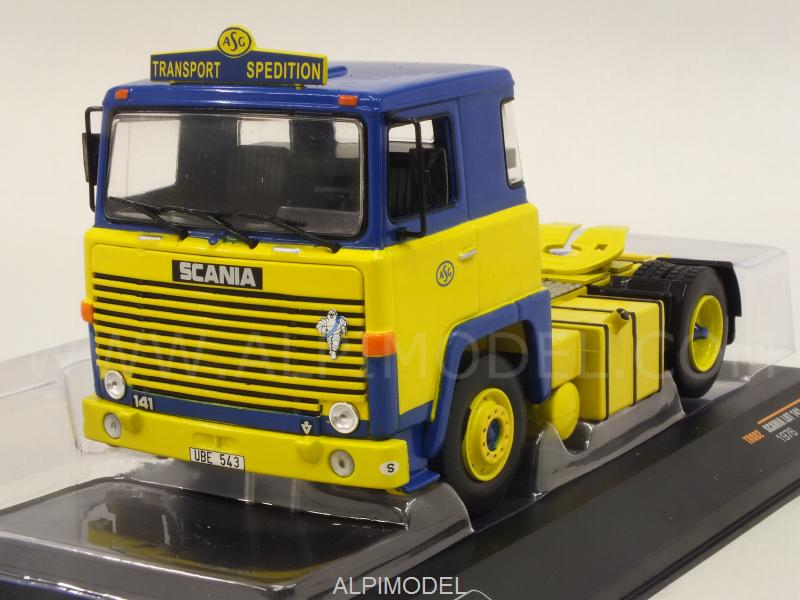 Scania LBT 141 1976 (Yellow) by ixo-models