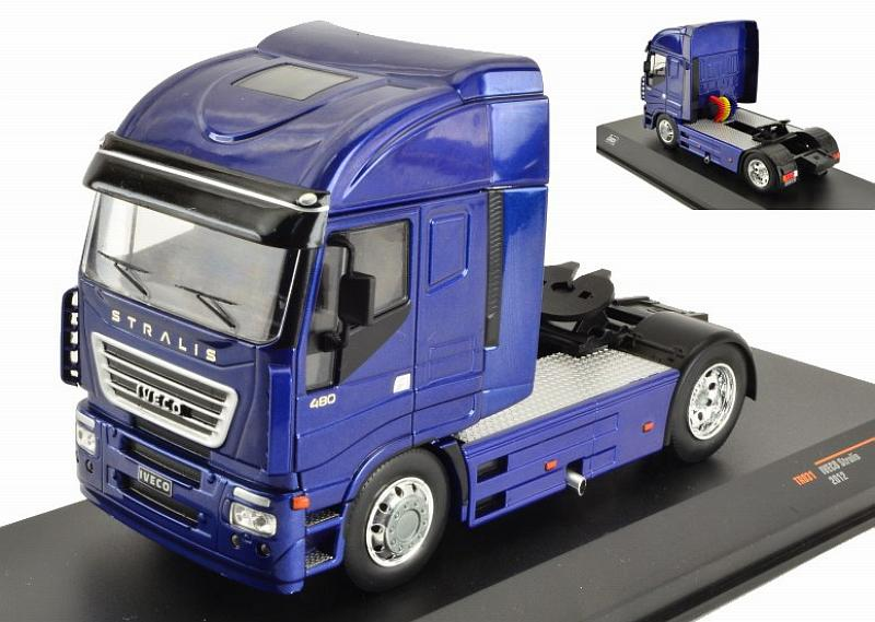 Iveco Stralis 2012 (Metallic Blue) by ixo-models