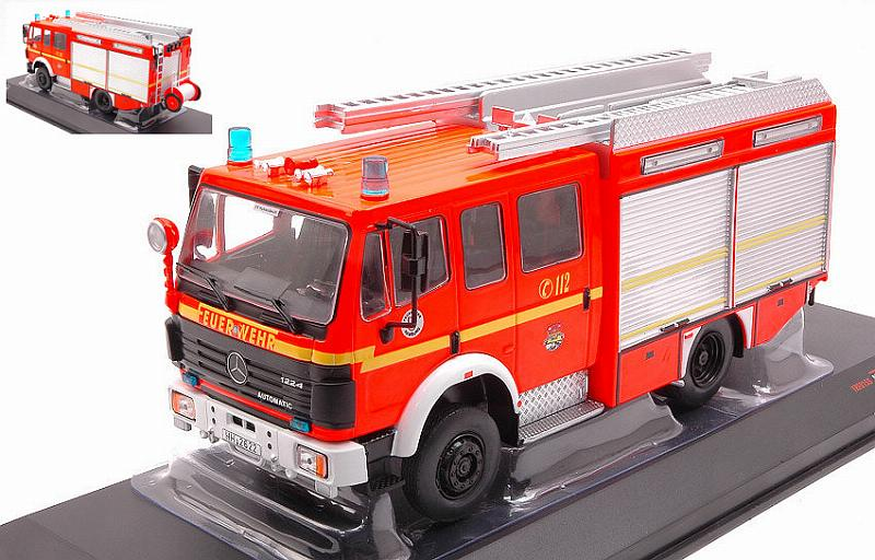 Mercedes LF 16/12 Ziegler Fire Brigade Hamburg 1995 by ixo-models