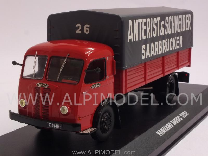 Panhard Movic 1952  Anterist & Schneider Saarbrucken by ixo-models