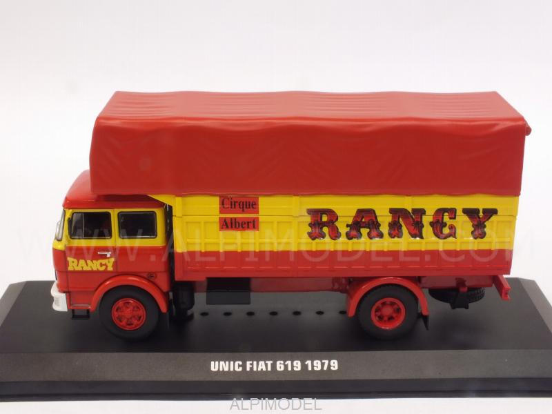 Fiat Unic 619 Cirque Albert Rancy 1979 - ixo-models