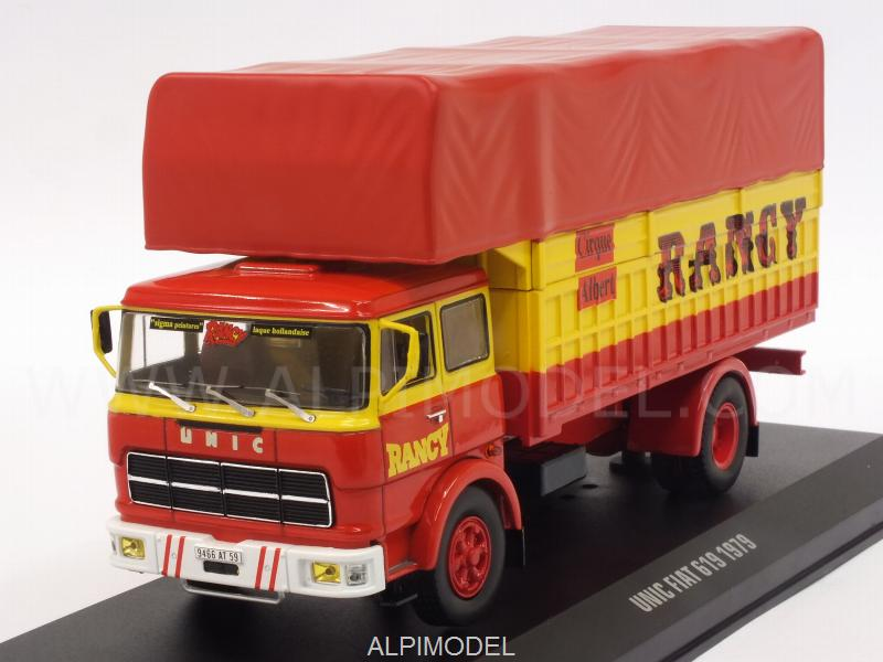 Fiat Unic 619 Cirque Albert Rancy 1979 by ixo-models