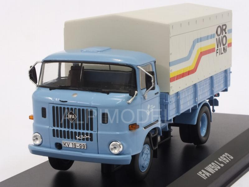 IFA W50L truck ORWO FILM 1970 by ixo-models