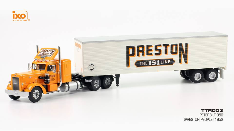 Peterbilt 350 (Preston People) truck 1952 by ixo-models