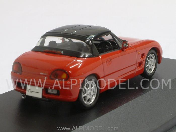 Suzuki Cappuccino closed 1994 (Red) - j-collection