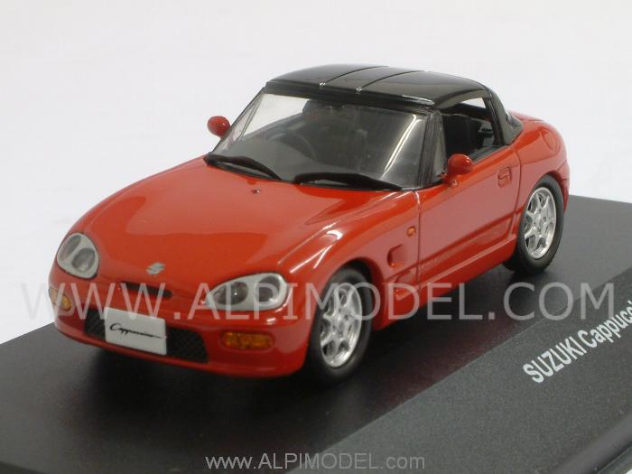 Suzuki Cappuccino closed 1994 (Red) by j-collection