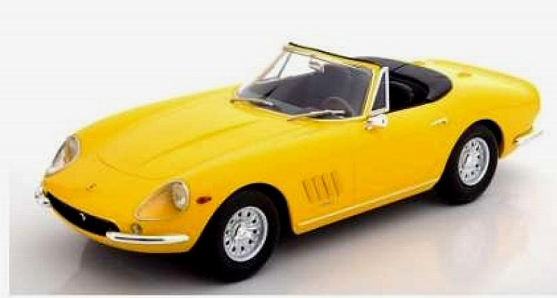 Ferrari 275 GTS/4 NART Spyder 1967 (Yellow) by kk-scale-models