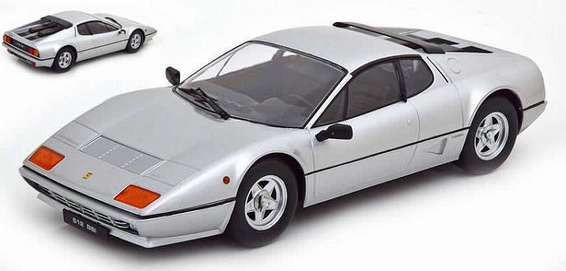 Ferrari 512 BB 1981 (Silver) by kk-scale-models