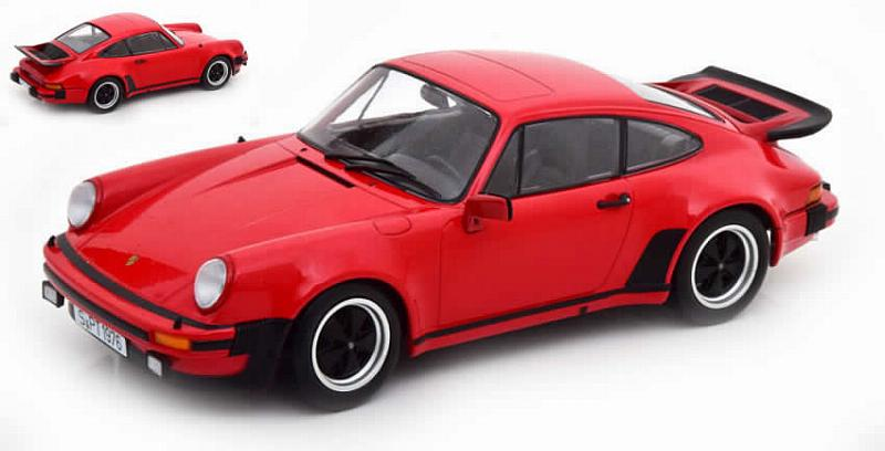 Porsche 911 (930) Turbo 3.0 1976 (Red) by kk-scale-models