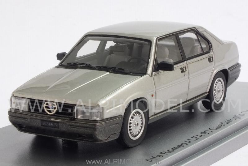Alfa Romeo Alfa 90 Quadrifoglio Oro 1984 (Light Grey Metallic) by kess