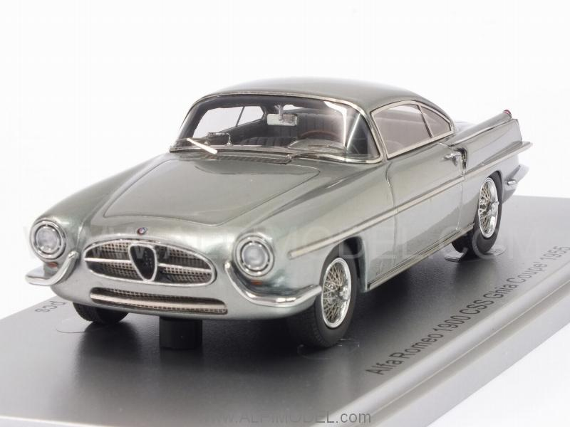Alfa Romeo 1900 CSS Ghia Coupe 1955 (Silver) by kess