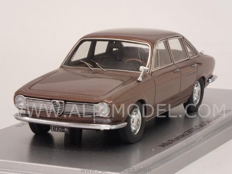 Alfa Romeo 2600 OSI De Luxe 1965 (Brown Metallic) by kess