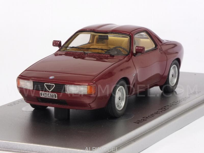 Alfa Romeo Zeta 6 Zagato 1983 (Metallic Red) by kess