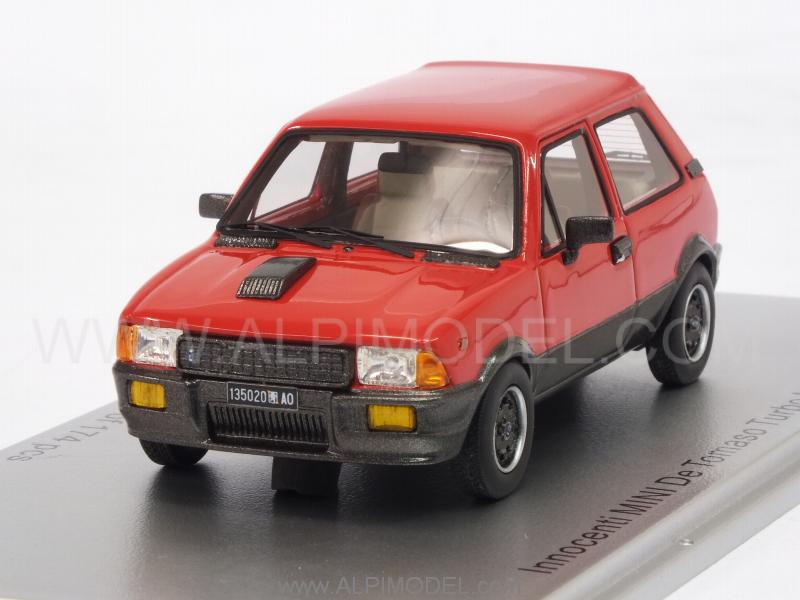 Innocenti Mini De Tomaso Turbo MkII 1983 (Red) by kess