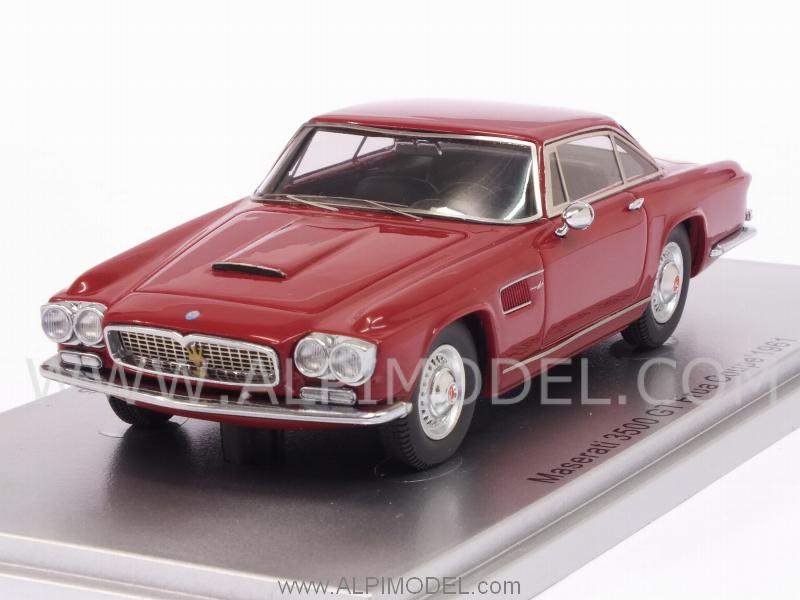 Maserati 3500 GT Coupe Frua 1961 (Red) by kess