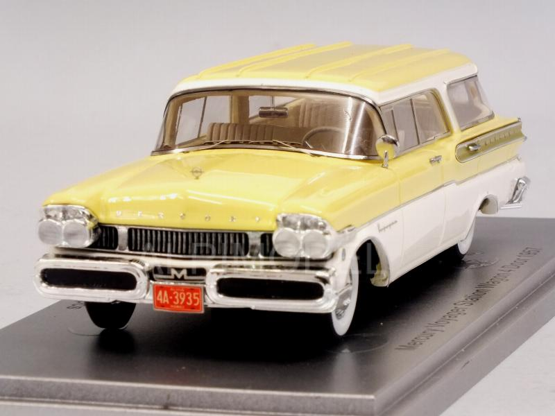 Mercury Voyager Station Wagon 4-Door 1957 /White/Light Yellow) by kess