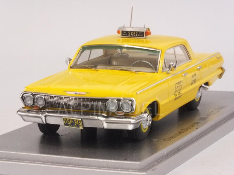 Chevrolet Biscayne 1963 Taxi NY by kess