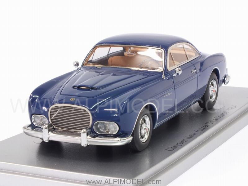 Chrysler New Yorker Ghia Coupe 1954 (Blue) by kess