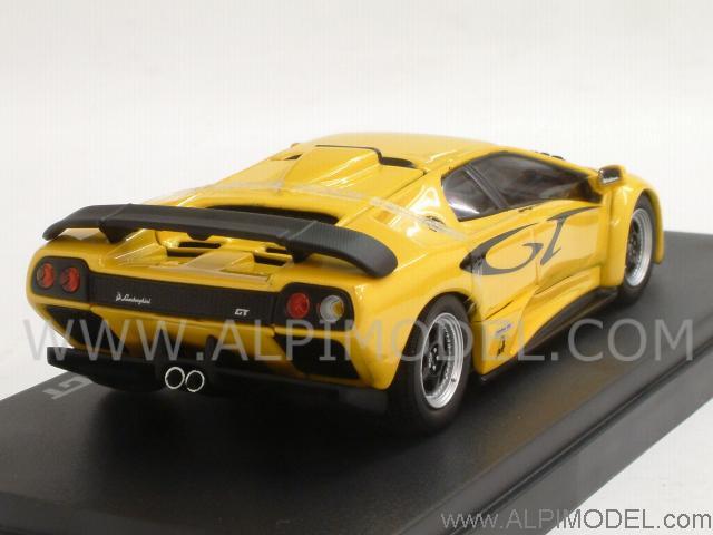 Kyosho 03215c Lamborghini Diablo Gt Yellow 1 43