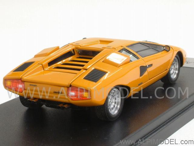kyosho lamborghini countach lp400 orange with opening. Black Bedroom Furniture Sets. Home Design Ideas