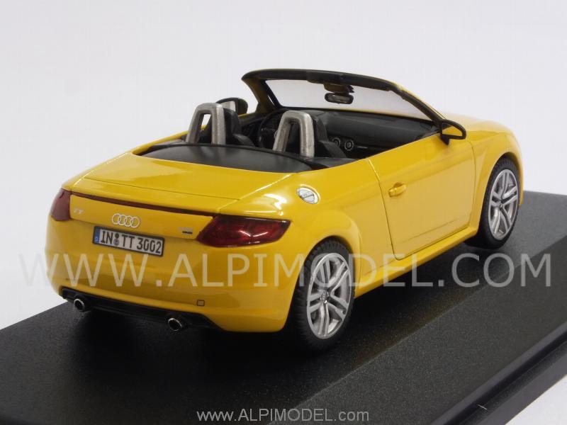 Kyosho Audi Tt Roadster 2014 Vegas Yellow Audi Promo 1