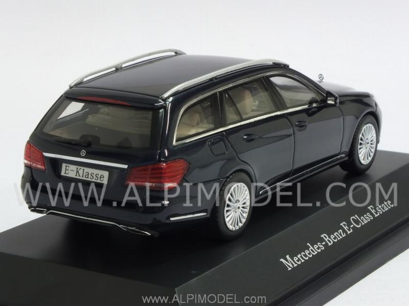 Mercedes E-Class T-Model 2013 (Canvasit Blue Metallic) (Mercedes promo) - kyosho